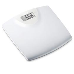 BILANCIA PESAPERSONE DIGITALE - pedana in plastica - portata 150kg - bianca