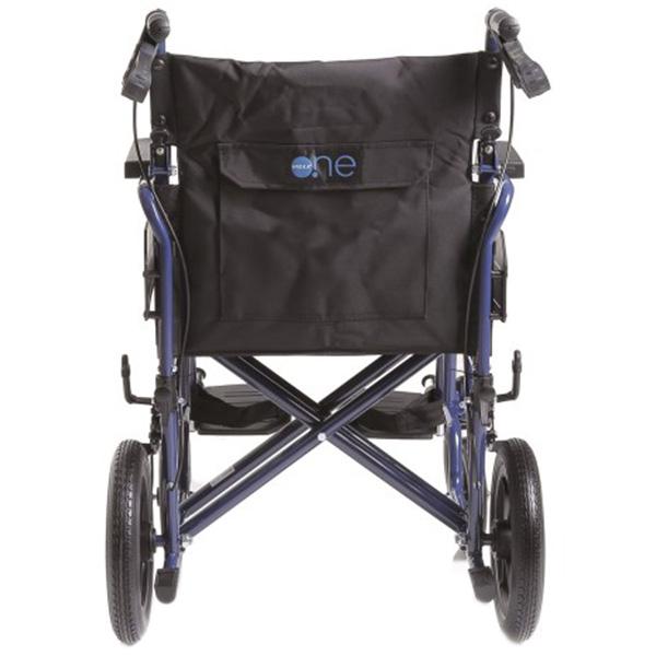 Sedia a rotelle carrozzina pieghevole go up da transito for Sedia a rotelle doppia crociera