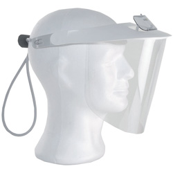 VISIERA SCHERMO PROTETTIVO TETI sovrapponibile + 1 schermo facciale trasparente - ultra leggero