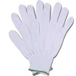 GUANTI DA LAVORO UNISEX in cotone - bianco - conf.10paia in misure miste