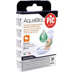 CEROTTI AQUABLOC PIC - con antibatterico alla clorexidina - misure media - conf.20pz