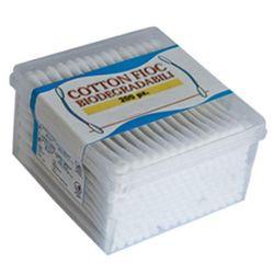 BASTONCINI COTTON FIOC PLURIUSO PULIZIA ORECCHIE - biodegradabile - conf.200pz