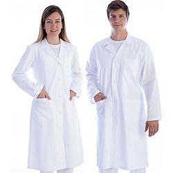 CAMICE MEDICO in cotone/ poliestere - Donna / Uomo - bianco - varie misure