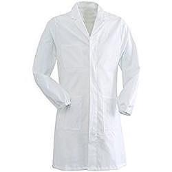 CAMICE MEDICO UNISEX in cotone/ poliestere  - bianco - varie misure