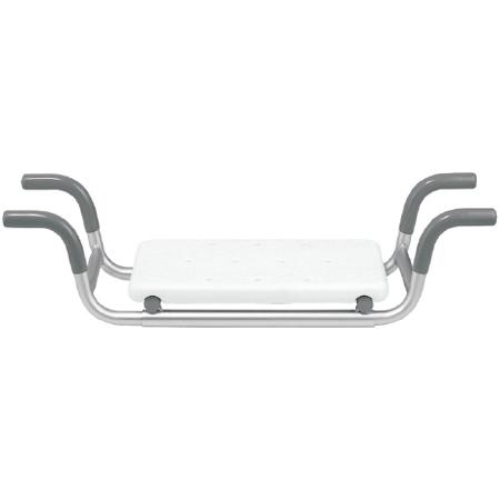 Sedile per vasca da bagno con seduta in plastica portata 100kg regolabile in larghezza - Sgabelli in plastica per bagno ...