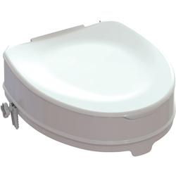 SEDILE RIALZO WATER WC - h.14/10cm - portata 225kg - con sistema di fissaggio - con coperchio
