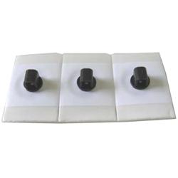 ELETTRODI ECG MONOUSO CON GEL LIQUIDO E ADATTOTORE PER SPINOTTO 4mm - FOAM e PE - rettangolare - Adulto - conf.1000pz