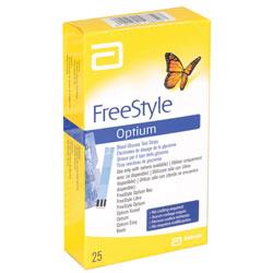 STRISCE GLICEMIA ABBOTT per LETTORI GLICEMIA Freestyle, Optium e Boots - conf.25pz