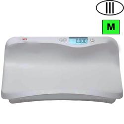 BILANCIA PESA NEONATI OSPEDALIERA DIGITALE SECA 376 - Classe III - portata 20kg - bianca