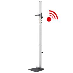 ALTIMETRO STATIMETRO STADIOMETRO SECA 264 ELETTRICO FISSO + modulo wireless - range misurazione 30/220cm