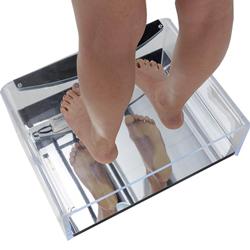 PODOSCOPIO A LED PODOLUX esame postura / plantare - 54x40xh.17cm - portata 170kg