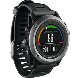 CARDIOFREQUENZIMETRO GARMIN FENIX 3 HR GPS -  frequenza cardiaca, smartwatch, multisport - nero/grigio
