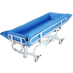 BARELLA DOCCIA IDRAULICA VASCA PER LETTO - portata 180kg - disabili ed anziani
