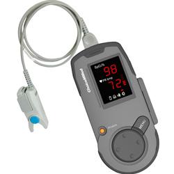PULSOSSIMETRO SATURIMETRO PALMARE MD300K1 con allarmi - compatibile nellcor - con sensore adulto