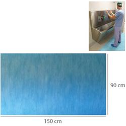 TAPPETINO ASSORBENTE IMPERMEABILE PRETAGLIATO 90x150cm - conf.40pz