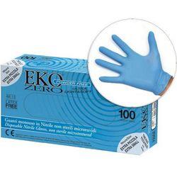 GUANTI IN NITRILE EKO ZERO - ultra leggeri 3gr - senza polvere  - conf.100pz - varie misure