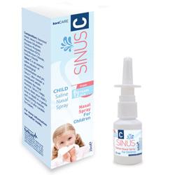 SPRAY NASALE SOLUZIONE SALINA DA 20ml SINUS C - per bambini - conf.48pz