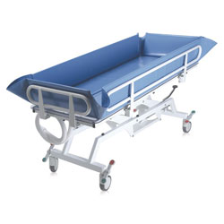 BARELLA DOCCIA IDRAULICA VASCA PER LETTO - portata 180kg - pediatrica