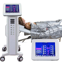 PRESSOTERAPIA CARRELLATA DIGITALE 3 IN 1 - TOUCH SCREEN - con INFRAROSSI + ELETTROSTIMOLAZIONE