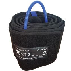 BRACCIALE SINGOLO A CONO per DTS-3000 - 90x12 cm gamba L - blu