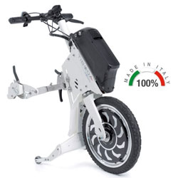 PROPULSORE ANTERIORE ELETTRICO TIBODA® per sedie a rotelle - Potenza motore 1000W - vari colori