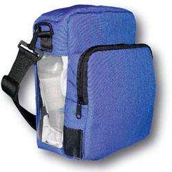 BORSA TERMICA PER MEDICINALI TERMOLABILI IN CORDURA WARMING INFUSION BAG - 23x13xh.28cm - blu