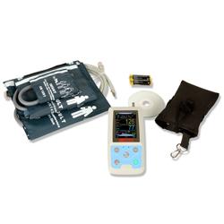 SATURIMETRO / MONITOR MULTIPARAMETRICO PALMARE ABPM SpO2 HOLTER + Bluetooth - con accessori
