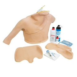 MANICHINO SIMULATORE TORACE - addestramento cateterismo cardiaco CVC