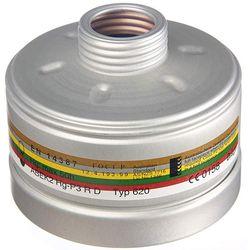 FILTRO COMBINATO GAS + POLVERI - DRAGER 1140 mod. A2B2E2K2HgP3 RD - attacco a filetto rotondo RD40