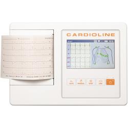 ELETTROCARDIOGRAFO / ECG CARDIOLINE 100L BASIC - non intepretativo - 12 derivazioni - 3/6 canali - display touch
