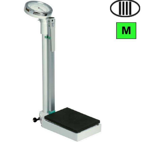 Bilancia pesapersone a colonna meccanica con altimetro - Portata bilancia pesapersone ...