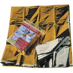 COPERTA ISOTERMICA DI EMERGENZA ARGENTO / ORO - 210x160cm