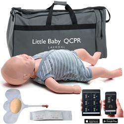 MANICHINO BLS RCP NEONATO LAERDAL BABY ANNE QCPR - per addestramento