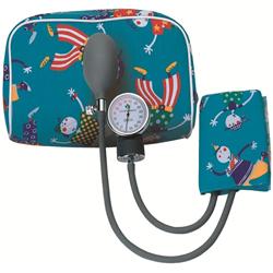 SFIGMOMANOMETRO MISURA PRESSIONE AD ANEROIDE PALMARE COLORATO - pediatrico e neonatale