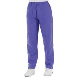 PANTALONE DOTTORE MEDICO INFERMIERE UNISEX in cotone 100% - azzurro - varie misure