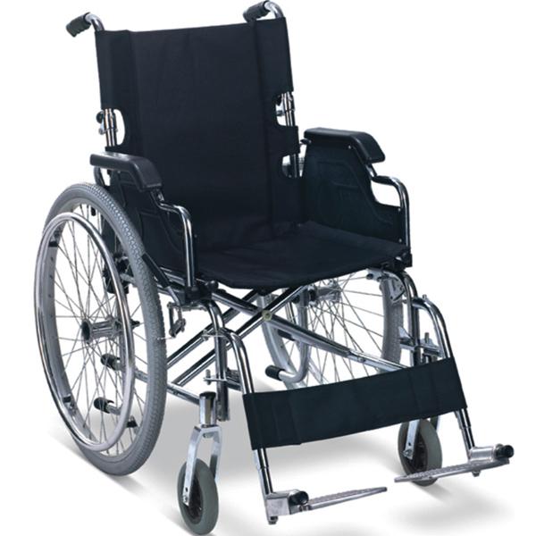 Sedia a rotelle carrozzina pieghevole per adulti for Larghezza sedia a rotelle