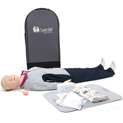 MANICHINO RESUSCI ANNE BASE FIRST AID CORPO INTERO CON TROLLEY - senza Skillguide