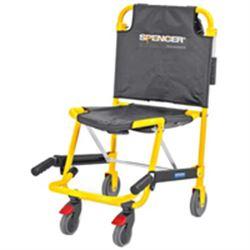 Sedia portantina da evacuazione a 4 ruote spencer 425 for Sedia da ufficio gialla
