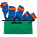 KIT STECCOBENDE IN NEOPRENE SPLINT ART SET 5 PEZZI - con borsa