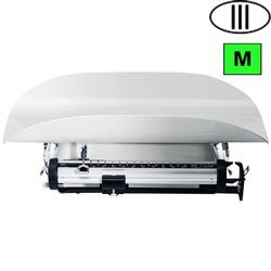 BILANCIA PESA NEONATI / BAMBINI OSPEDALIERA MECCANICA SECA 745 - classe III - portata 16kg - bianca
