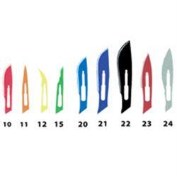LAME BISTURI STANDARD ACCAIO INOX STERILI N.10 - conf.100pz