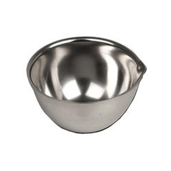 CAPSULA CIOTOLA AUTOCLAVABILE CON BECCO in acciaio inox - Ø56xh.32mm - capacità 50ml