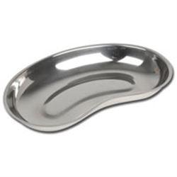BACINELLA RENIFORME A BORDO BASSO AUTOCLAVABILE in acciaio inox - 254x141x33mm - capacità 750ml