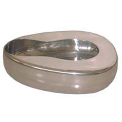 URINALE FEMMINILE PADELLA TIPO PERFECTION in acciaio inox - per uso professionale