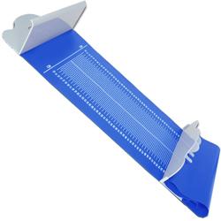 ALTIMETRO MISURATORE STATURA NEONATI PORTATILE 121x30cm - range misurazione 10/99cm