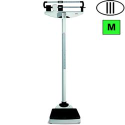 BILANCIA PESAPERSONE A COLONNA MECCANICA SECA 711 CON ALTIMETRO - classe III - portata 220kg - altimetro 60/200cm