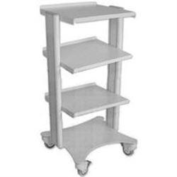 CARRELLO SMART in alluminio - 4 ripiani - 40x36xh.90cm