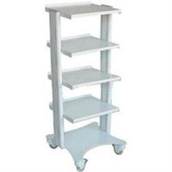 CARRELLO SMART in alluminio - 5 ripiani - 40x36xh.115cm