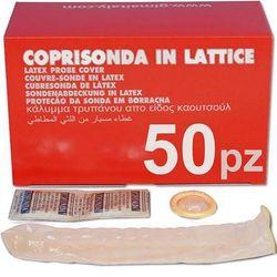 COPRISONDA IN LATTICE MONOUSO per sonde ecografi e doppler - conf.50pz