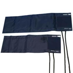 BRACCIALE ADULTI + POLMONE 2 TUBI - 49x15cm - colore blu